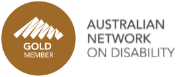 Australian Network On Disability - Gold Member logo